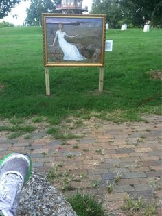 """""""Hope"""" at Patterson Park #otwbmore #baltimore; just like our #InsideOut with the Detroit Institute of Arts."""