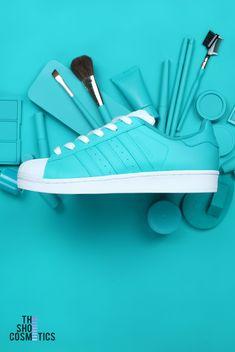 6585fcef26 Turquoise adidas superstar custom sneakers. Αθλητικά Παπούτσια ...