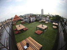 Bangkok Fortville Guesthouse Thailand, Asia Stop at Fortville Guesthouse to discover the wonders of Bangkok. The hotel offers a high standard of service and amenities to suit the individual needs of all travelers. Facilities like free Wi-Fi in all rooms, ticket service, 24-hour front desk, luggage storage, Wi-Fi in public areas are readily available for you to enjoy. Each guestroom is elegantly furnished and equipped with handy amenities. To enhance guests' stay, the hotel off...