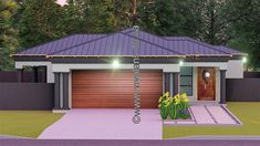 3 Bedroom House Plan BLA 074S This Tuscan designed Single Storey 3 Bedroom House Plan BLA 074S Boasting  Master Suite with Covered Patio, 2 Standard Bedrooms, Bathroom, Open Plan living area,  Kitchen without Scullery,  Entrance Hall and Double Garage