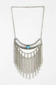 Dripping Chain Necklace   #urbanoutfitters