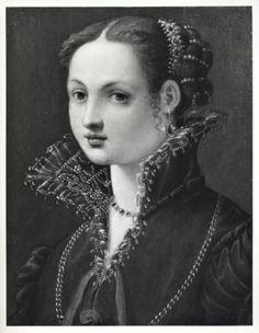 Florentine portrait of a Lady Renaissance Hairstyles, Renaissance Portraits, Italian Renaissance Dress, Renaissance Clothing, Italian Outfits, Italian Fashion, Historical Dress, Historical Clothing, Rococo