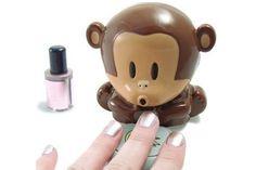 scimmietta asciuga smalto