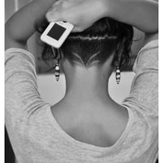 I csnt wait to do this nape undercut long hair Undercut Hairstyles Women, Undercut Women, Short Undercut, Shaved Undercut, Female Undercut Long Hair, Undercut Curly Hair, Hairstyle Short, Shaved Hairstyles, Updo Hairstyle