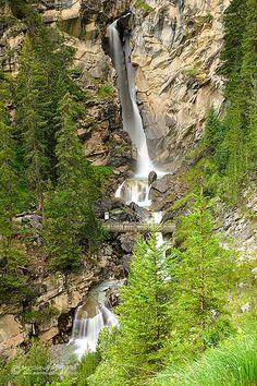 Cascade de la Fraiche, Vanoise National Park, France