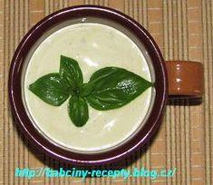 Dresingy k masu   Babčiny recepty Pesto, Panna Cotta, Pudding, Ethnic Recipes, Desserts, Food, Tailgate Desserts, Deserts, Essen