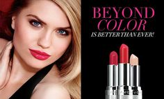 Beyond Color lipstick spf 15 Plus 8 out of 10 women saw fuller lips after one week of using! Buy with me at www.youravon.com/dvolio I would looooovve to be your avon lady!!