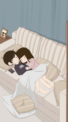 My life and me sleeping after a wonderful dinner n a walk around the block from our home Meri jaán Meri Zindagi Allah bless 🙏 my love and me. Love Cartoon Couple, Cute Couple Comics, Chibi Couple, Cute Cartoon Pictures, Cute Couple Art, Cute Love Pictures, Anime Love Couple, Cute Anime Couples, Cute Love Wallpapers