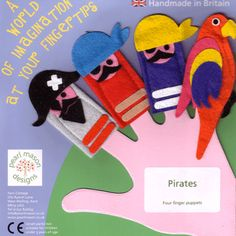 felt toys and quiet book pages ~ baby Felt Puppets, Puppets For Kids, Felt Finger Puppets, Hand Puppets, Finger Puppet Patterns, Puppet Making, Felt Quiet Books, Crafts For Kids To Make, Felt Crafts