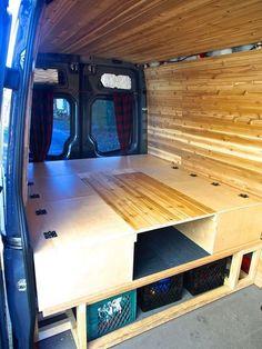 Camper Van Conversions DIY 37