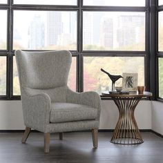 AmazonSmile: Madison Park Arianna Swoop Wing Chair Multi See below: Kitchen & Dining