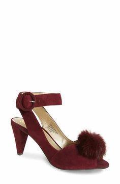 e95a4fa02f4 Seychelles Seduce Genuine Rabbit Fur Pompom Sandal (Women) Pom Pom Sandals