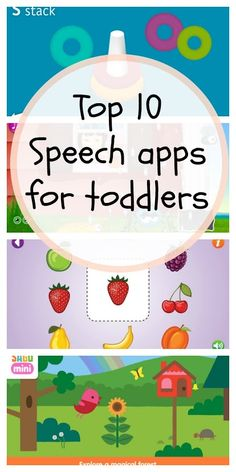 Top 10 Speech and Language Apps for Toddlers – Organized Mom Top 10 Speech and Language Apps for Toddlers top 10 speech and language apps for toddlers Toddler Learning Activities, Speech Therapy Activities, Language Activities, Infant Activities, Preschool Activities, Kids Learning, Speach Therapy For Toddlers, Play Therapy, Articulation Activities