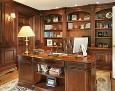Traditional Home Office Design, Pictures, Remodel, Decor and Ideas - page 91