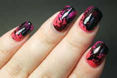 OMG Stuff - A Blog About Nails, Beauty, Home Decor and Life: Instagram revisited part III: Gradient Splatter