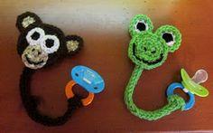 Off-the-Hook Crochet: Pacifier Clips