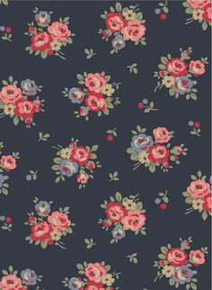 Love navy. Detest Cath Kidston, if this is hers I will have to let it go. Pretty...