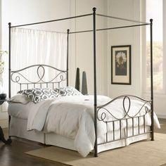 Sylvania Canopy Bed - Headboards at Hayneedle