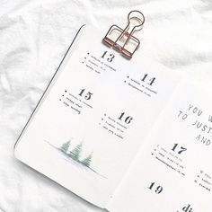 Winter-Themed Calendar