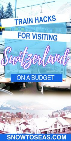 Want to visit Switzerland for less? It is possible! Check out 6 strategies for getting cheaper SBB train fares in #Switzerland! #Europe #BudgetTravel #SBB