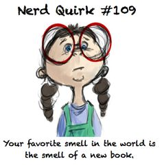 It doesn't have to be new...it can be old! Love the smell of books!