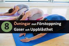Har du problem med gaser, uppblåsthet eller förstoppning? Ett effektivt verktyg är anpassade yogaövningar. Få reda på vilka övningar som kan hjälpa till bli av med gaserna och för en plattare mage.
