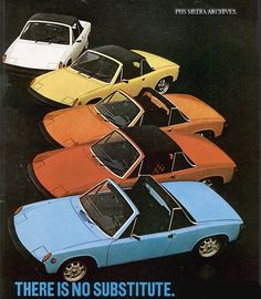 Porsche 914 Advertisement