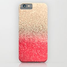 GOLD+CORAL+iPhone+&+iPod+Case+by+Monika+Strigel+-+$35.00