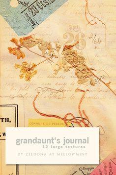 Grandaunt's journal by ~mellowmint on deviantART