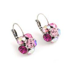 Mooie bloem oorbellen van Moliere Paris koop je bij Aurora Patina, de leukste sieraden webshop van Nederland!
