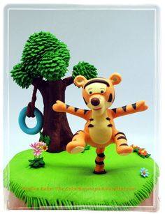 Boing! Boing! Tigger Bounce!  Cake by paulinescakes