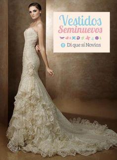 Vestidos de novia usados baratos