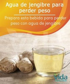 Una bebida natural que te ayudará a bajar de peso fácilmente.