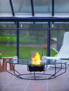 Luxurious @Planika fire design on Milan Design Week @iSaloni