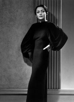 1930s Madame Gres dress design
