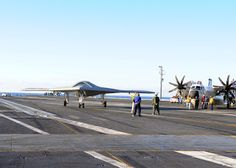 X-47B Unmanned Combat Air System Aboard USS Truman (CVN-75) Carrier | Global Military Review