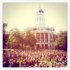Bid Day at Mizzou.