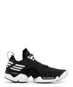 Y-3 Black and White Kohna Low Top Sneaker-SS15Y3AD10 - Sneakerboy