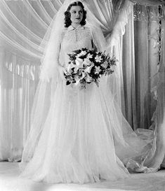 Lucille Ball Wedding Dress | Lucy Modeling a Wedding Gown | Flickr - Photo Sharing!