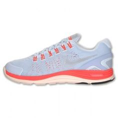 newest 1593c 92f45 Chaussures Nike Lunarglide 4 Shield pour courir Femme Teinte Bleue   Argent    Rouge soldes