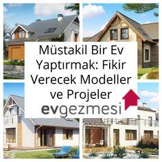 Müstakil Bir Ev Yaptırmak: Fikir Verecek Modeller ve Projeler | Ev Gezmesi House Plans, Sweet Home, Villa, Image, Home Decor, Amigurumi, Balcony, Architecture, Creative