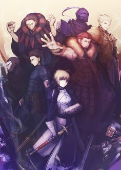 Magicxiang, TYPE-MOON, Fate/zero, Berserker (Fate/zero), Gilgamesh, Assassin (Fate/zero)
