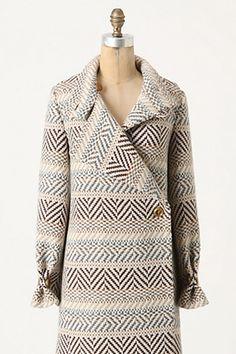 Anthropologie Chevron Canyons Coat, $383.60 (on sale