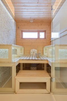 Sauna Design, Stairs, Loft, Bed, House, Furniture, Home Decor, Steam Room, Stairway