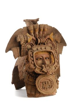 Maya Rise and Fall; Popol Vuh Museum; Guatemala City; Universidad Francisco Marroquin; Incensario; Guatemala; Mayan; Maya; .