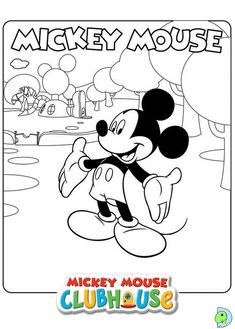 Mickey Mouse Clubhouse Coloring Pages 14 In This Page You Can Find Free Printable Lot Of Collection