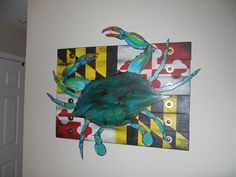 Perfect for the #Baltimore home or office. #Maryland #crabs