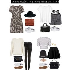 A fashion look from February 2014 featuring Topshop dresses, Topshop tops and H&M t-shirts. Browse and shop related looks.