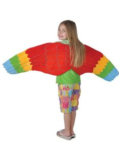 For Iago? AmazonSmile: Child Full Length Bird Costume Accessory Parrot Wings: Clothing $19