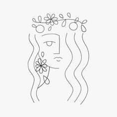 Mini Drawings, Doodle Drawings, Art Drawings Sketches, Doodle Art, Abstract Face Art, Abstract Drawings, Outline Art, Grafik Design, Minimalist Art